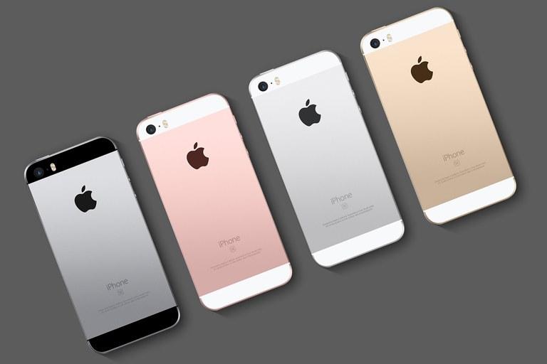 iPhone SE модели и цвета