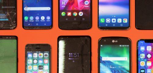 Самые прочные и самые слабые сматфоны