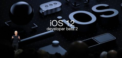 iOS 12 developer beta 2