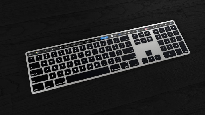 Apple touch bar keyboard 3
