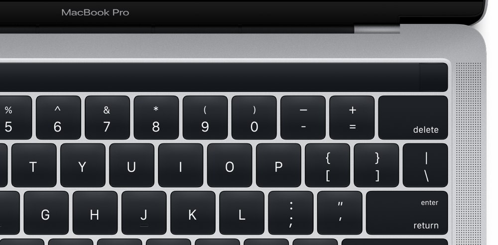 Macbook pro late 2016 keyboard
