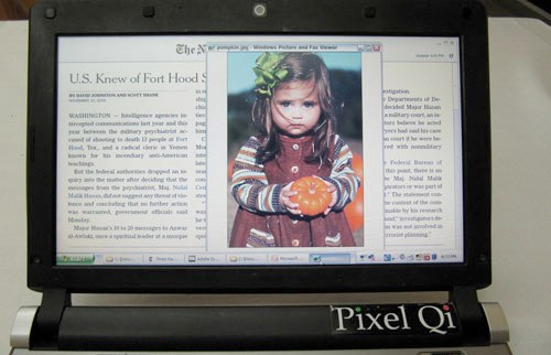 LCD экран Pixel Qi 3Qi