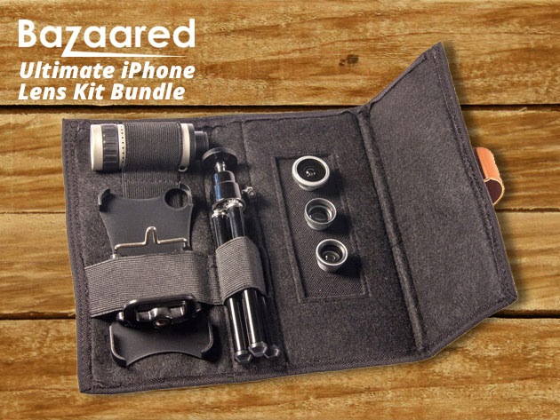 Bazaared ipohne lens kit