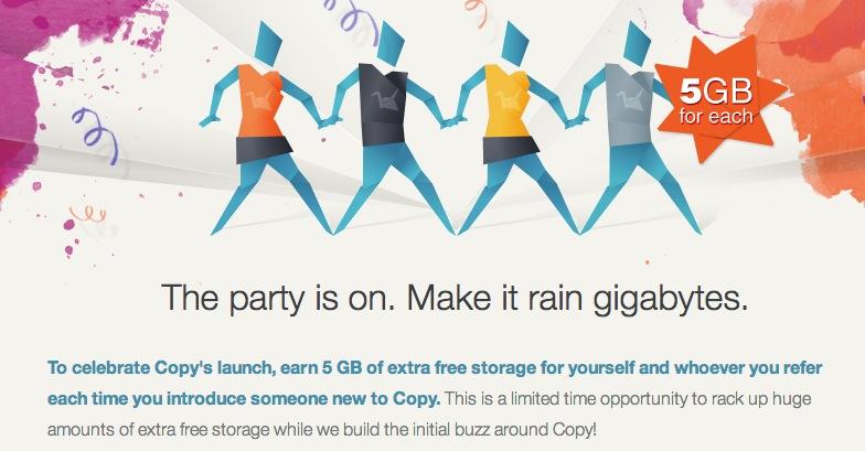 Copy 5gb free