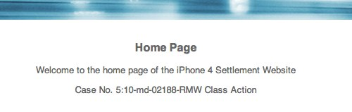 Iphone settlement site