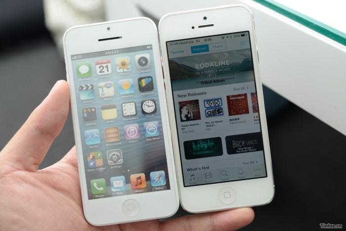 Iphone 5s 5c спереди