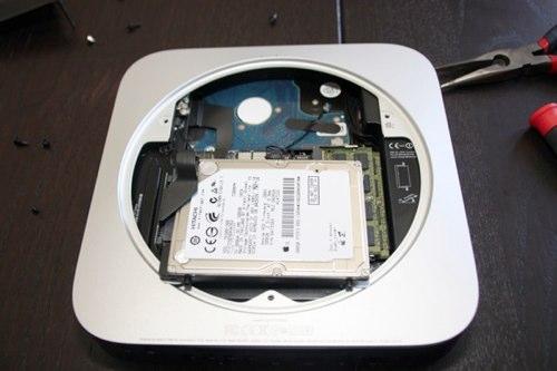 Разборка Mac mini server
