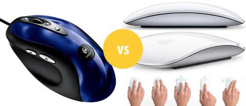 Привыкаю к Apple Magic Mouse после Logitech MX510