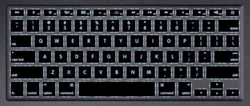 MBA 2011 клавиатура
