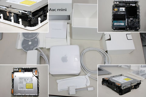 new mac mini disassembled