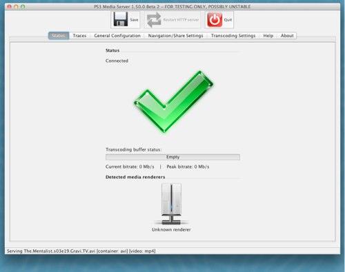 media server mac os ps3