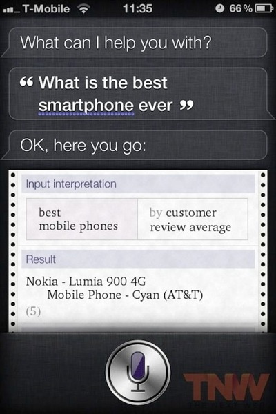 Siri what is the best smarphone ever